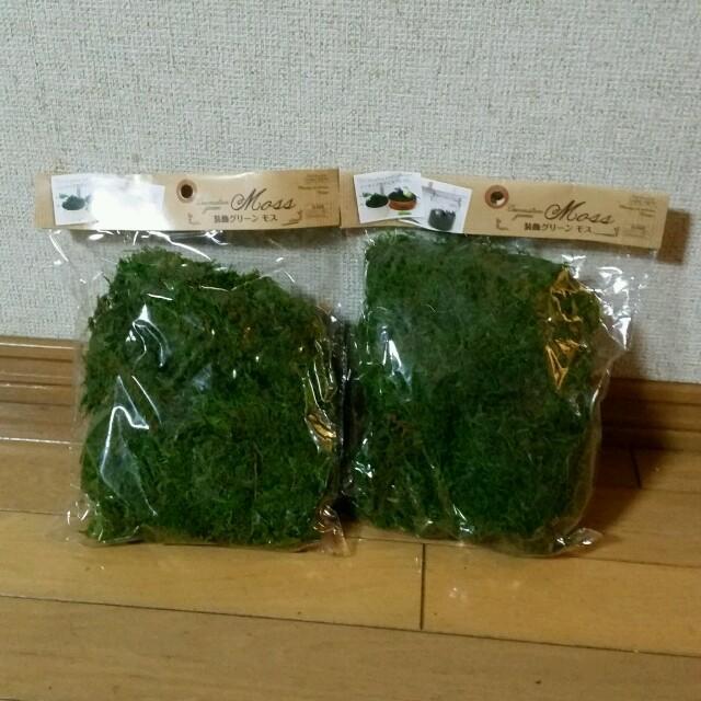 グリーンモス ハンドメイドの素材/材料(その他)の商品写真