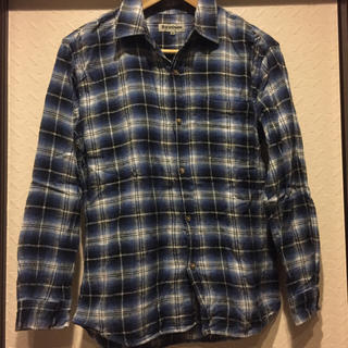シマムラ(しまむら)のチェックシャツ☆160(ブラウス)