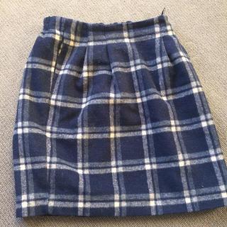 レイカズン(RayCassin)のチェックタイトスカート(ひざ丈スカート)