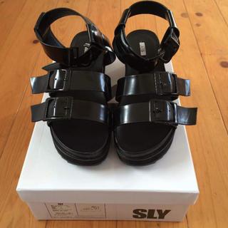 スライ(SLY)のSLY❤️サンダル(サンダル)