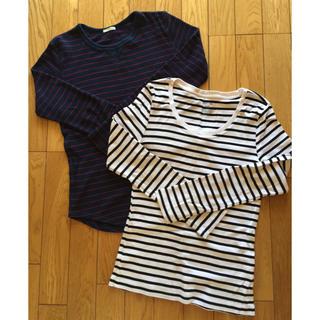 ジーユー(GU)のgu  ロンT2枚セット(Tシャツ(長袖/七分))