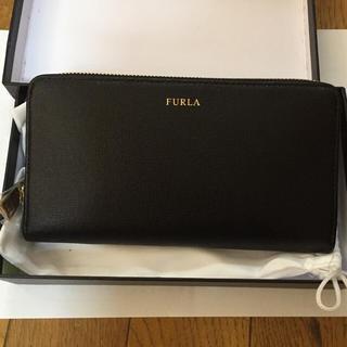 フルラ(Furla)のフルラ 長財布 フルジップ ブラック 新品 ケイトスペード(長財布)
