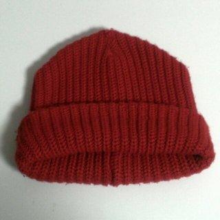 マウジー(moussy)の◆moussy ◆ 赤ニット帽◆(ニット帽/ビーニー)