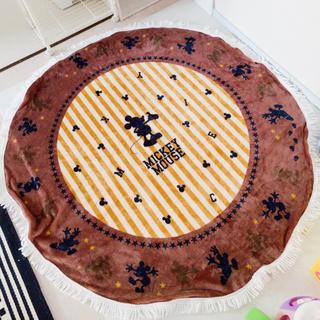 シマムラ(しまむら)の最終値下げ!ディズニーラウンド毛布 ブランケット(毛布)