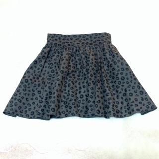 ローリーズファーム(LOWRYS FARM)のローリーズファーム☆ヒョウ柄スカート(ミニスカート)