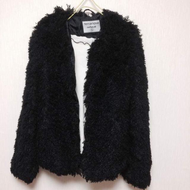 ❤新品、大流行❤️プードルコート 黒 zara スナイデル系 ファー レディースのジャケット/アウター(毛皮/ファーコート)の商品写真