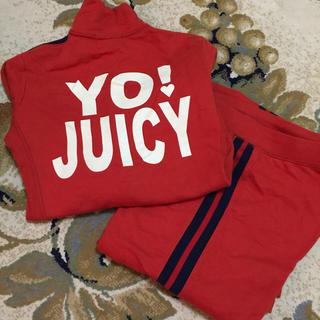 ジューシークチュール(Juicy Couture)のジューシークチュールセットアップ(トレーナー/スウェット)