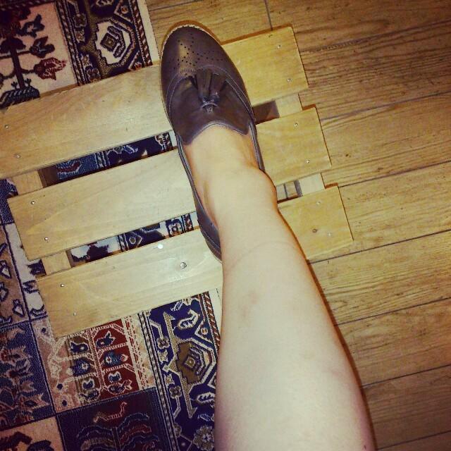 dholic(ディーホリック)の値下げ!格安!タッセルシューズ レディースの靴/シューズ(ローファー/革靴)の商品写真