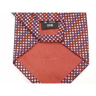 シビラ(Sybilla)の新品日本製シビラSYBILLAネクタイ水玉柄ドット柄レッド赤色系(ネクタイ)