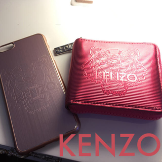 11a7f8d0f8b2 ケンゾー(KENZO)のKENZO お財布 iPhone 6/6splus ケース セット(財布
