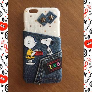iPhone6/6s  リメイクデニムスマホケース(スマホケース)