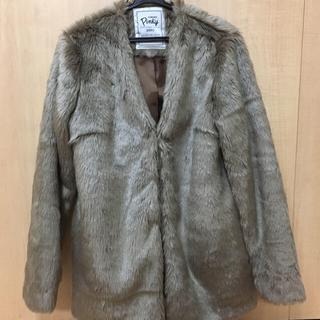 アズノウアズ(AS KNOW AS)のアズノウアズ ファーコート (未使用、新品)(毛皮/ファーコート)