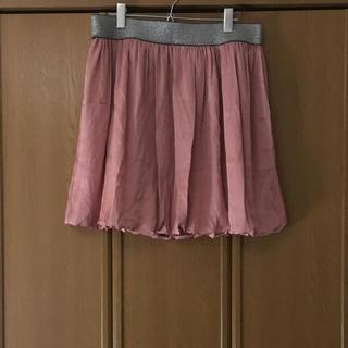 バルーンスカート(ひざ丈スカート)