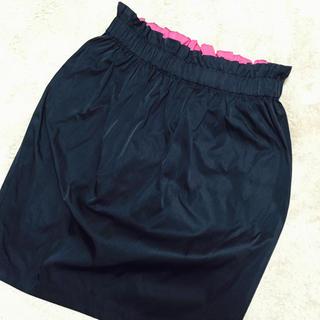 デミルクスビームス(Demi-Luxe BEAMS)のウエストがおしゃれなタイトスカート♡(ひざ丈スカート)
