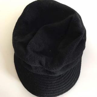 ムジルシリョウヒン(MUJI (無印良品))の新品 MUJI 無印 良品計画 帽子 ブラック(ハット)