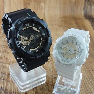 ジーショック(G-SHOCK)のCASIO ペア腕時計 GA-110RG-1AJFBA-110-7A3JF 新品(腕時計(デジタル))