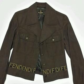 フェンディ(FENDI)のcvin様専用  FENDI ファー付ジャケット(ブルゾン)