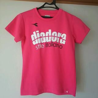 ディアドラ(DIADORA)のdiadora Tシャツ ピンク150cm(Tシャツ/カットソー)
