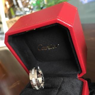 カルティエ(Cartier)のキャットベリー様☆カルティエ タンクフランセーズ(リング(指輪))