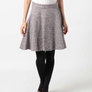 トランテアンソンドゥモード(31 Sons de mode)のループツイードフレアスカート(ひざ丈スカート)