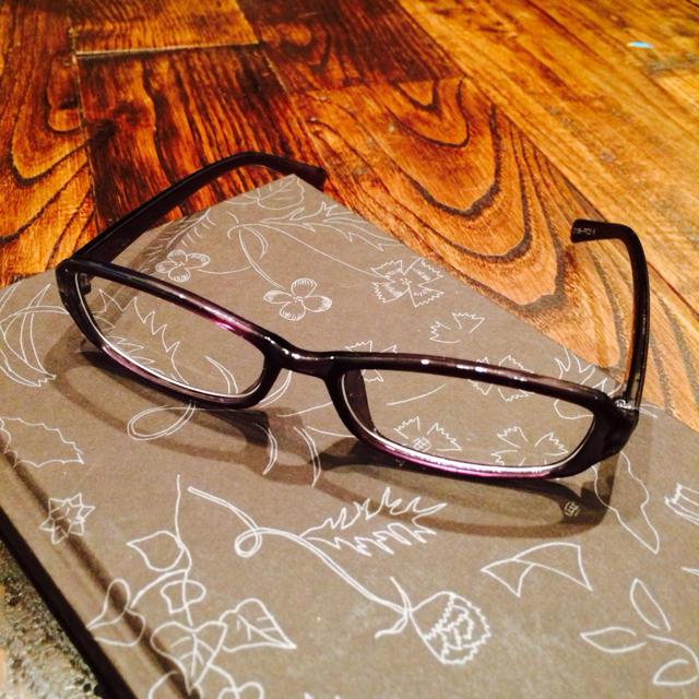 PCメガネ♡ブラック レディースのファッション小物(サングラス/メガネ)の商品写真