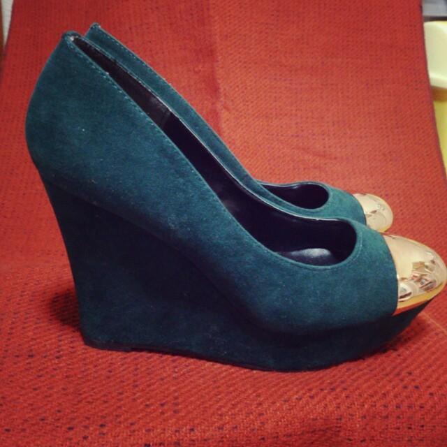 ベロアパンプス レディースの靴/シューズ(ハイヒール/パンプス)の商品写真