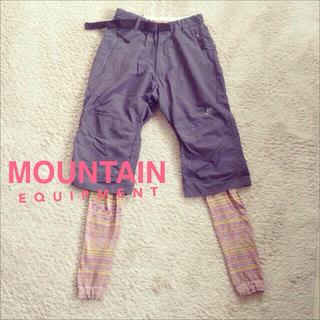 山登りにも! MOUNTAIN(カジュアルパンツ)