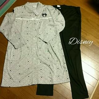 ディズニー(Disney)の【もこ様専用】Disney♡授乳機能つきパジャマ♡Lサイズ(マタニティパジャマ)
