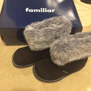 ファミリア(familiar)の新品 ファミリア☆ブーツ  靴 15(ブーツ)