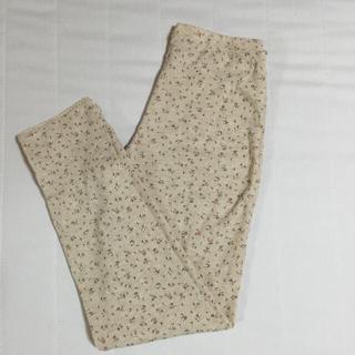 ムジルシリョウヒン(MUJI (無印良品))の無印良品♡花柄レギンス(レギンス/スパッツ)