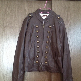 リズリサ(LIZ LISA)のレザージャケット(ライダースジャケット)