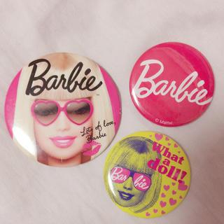 バービー(Barbie)のBarbie 缶バッチセット(ブローチ/コサージュ)