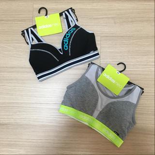 アディダス(adidas)のNameko様専用 新品‼︎ アディダススポーツブラ Mサイズ2点セット☆(ブラ)