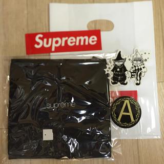 シュプリーム(Supreme)のSupreme Polartec Fleece Neck Gaiter  黒(ネックウォーマー)
