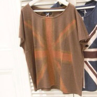 ミスティック(mystic)のユニオンジャックTシャツ*mystic(Tシャツ(半袖/袖なし))