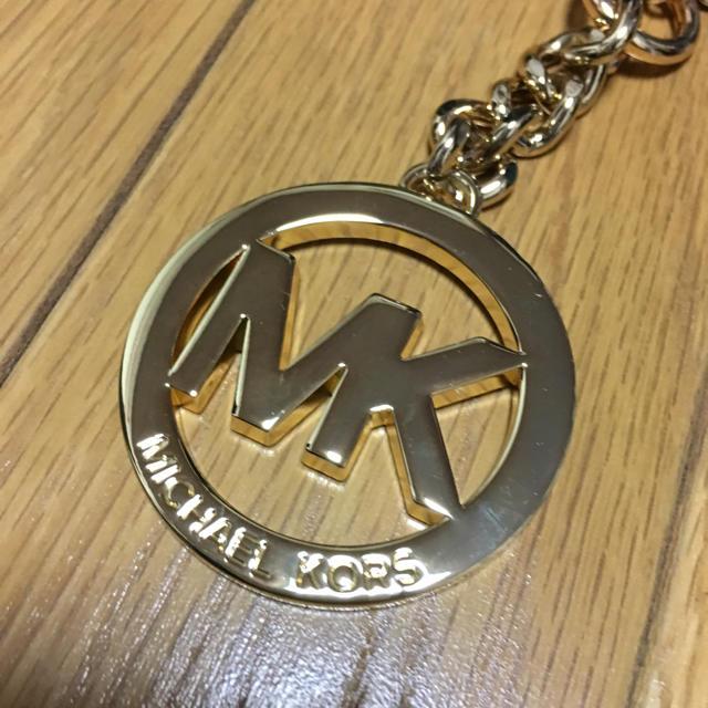 d73e395e987d Michael Kors(マイケルコース)の新品 MK ゴールド バッグ チャーム ハンドメイドのファッション小物