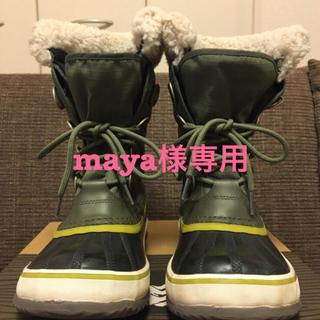 ソレル(SOREL)の【maya様専用】sorel 24cm ウィンターカーニバル(ブーツ)
