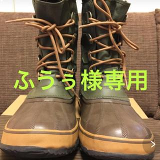 ソレル(SOREL)の【ふうぅ様専用】sorel ウィンターカーニバル 27cm (ブーツ)