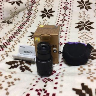 ニコン(Nikon)のNIKON 一眼レフレンズ 50mm-200mm(レンズ(ズーム))