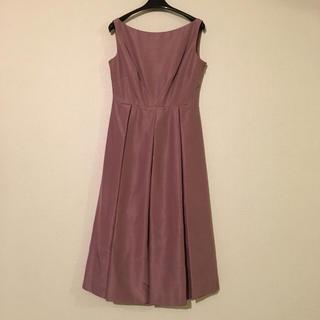 シビラ(Sybilla)のシビラのドレス、パニエ付き(ミディアムドレス)
