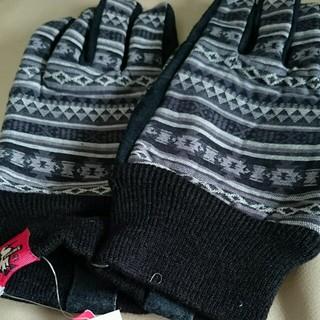 チャムス(CHUMS)のチャムス メンズ手袋 新品タグつき(手袋)