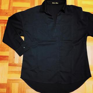 グラマラスガーデン(GLAMOROUS GARDEN)のブラウス 一回着用 濃ネイビー(シャツ/ブラウス(半袖/袖なし))