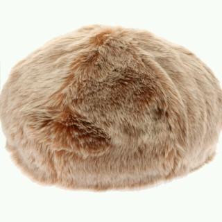アースミュージックアンドエコロジー(earth music & ecology)のフェイクファー ベレー帽(ハンチング/ベレー帽)