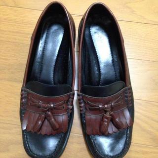 古着屋で購入ローファー(ローファー/革靴)