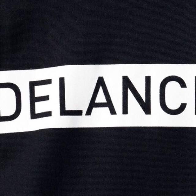 新品 DELANCI ボックスロゴ スウェット M デランシー トレーナー 黒 メンズのトップス(スウェット)の商品写真