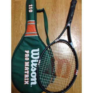 ウィルソン(wilson)の硬式テニスラケットお譲りします。(ラケット)