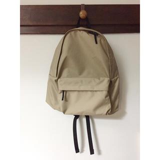 ムジルシリョウヒン(MUJI (無印良品))のサイドファスナーポケット付ポリエステルリュックサック(リュック/バックパック)