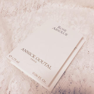 アニックグタール(Annick Goutal)のローズアプソリュ♡オードパルファム(香水(女性用))