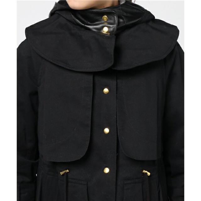 H.P.FRANCE(アッシュペーフランス)の<doll up oops> ミリタリージャケット レディースのジャケット/アウター(トレンチコート)の商品写真
