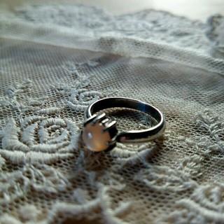 【お値下げ】 華奢でシンプルなシルバーリング♪(リング(指輪))